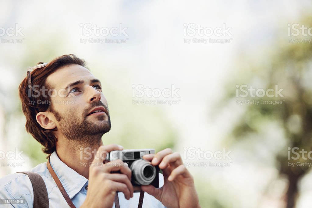 Copyspace that takes your breathe away stock photo