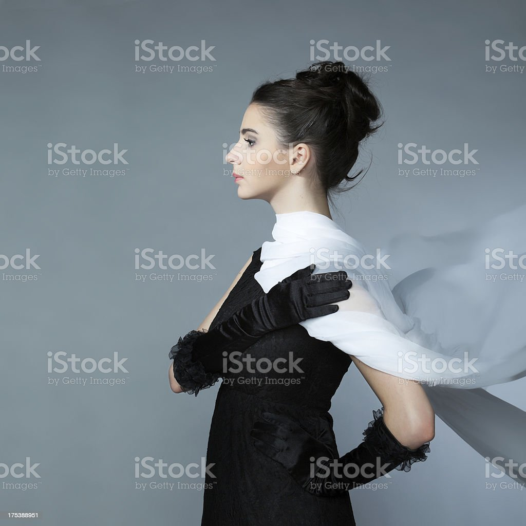 Coquette stock photo