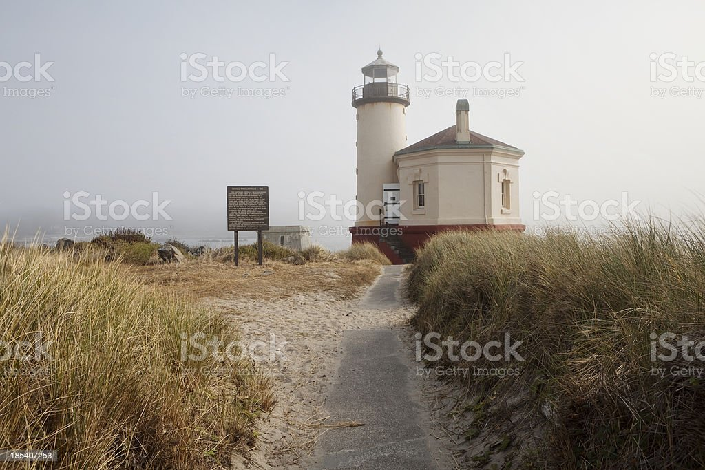Coquille River Lighthouse royalty-free stock photo