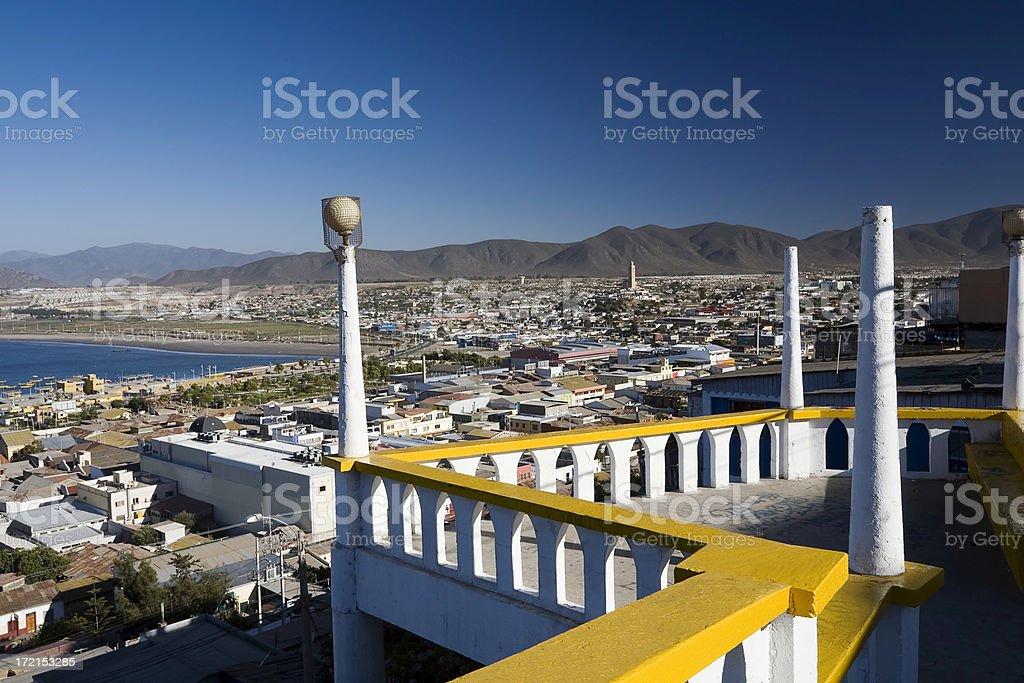 Coquimbo Overlook. Chile stock photo