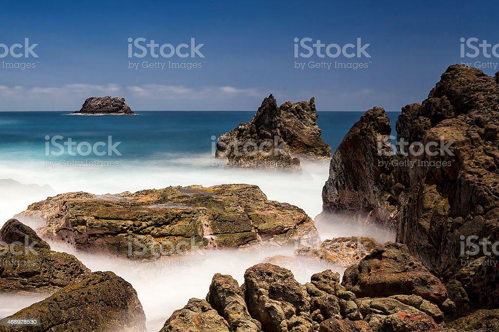 coral national park ujung kulon stock photo