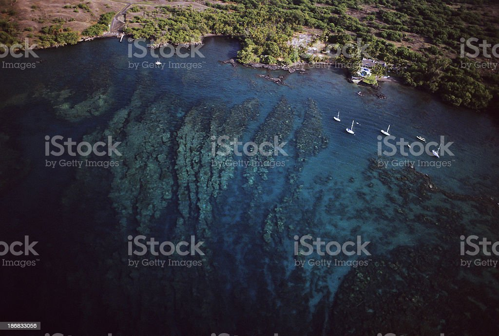 Coral Reef Drop Off stock photo