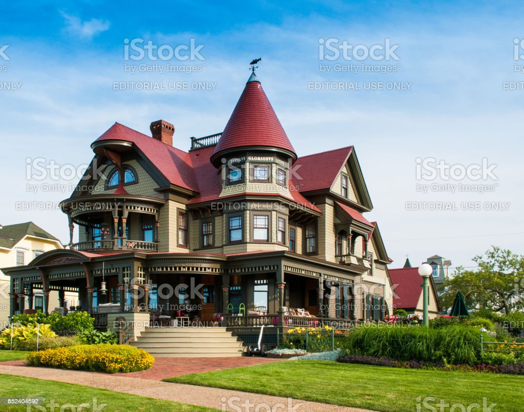 Corbin Norton House stock photo