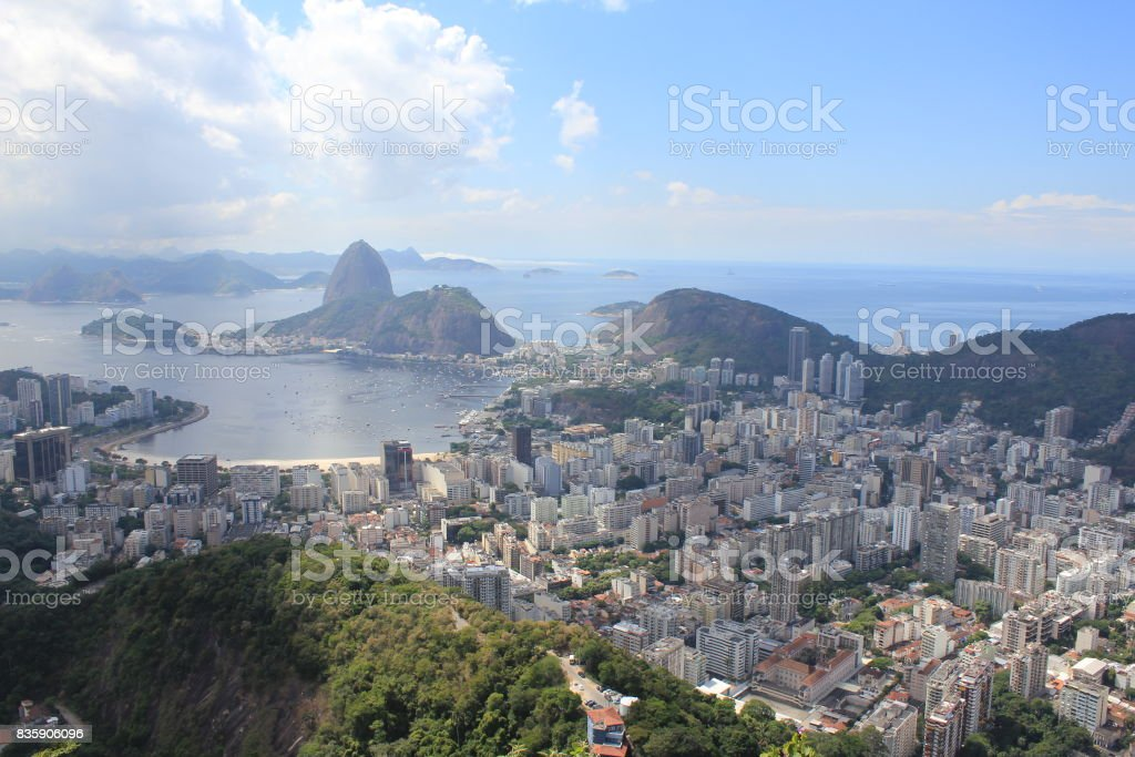 Corcovado Vista stock photo