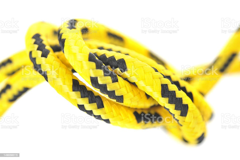 cord knot royalty-free stock photo