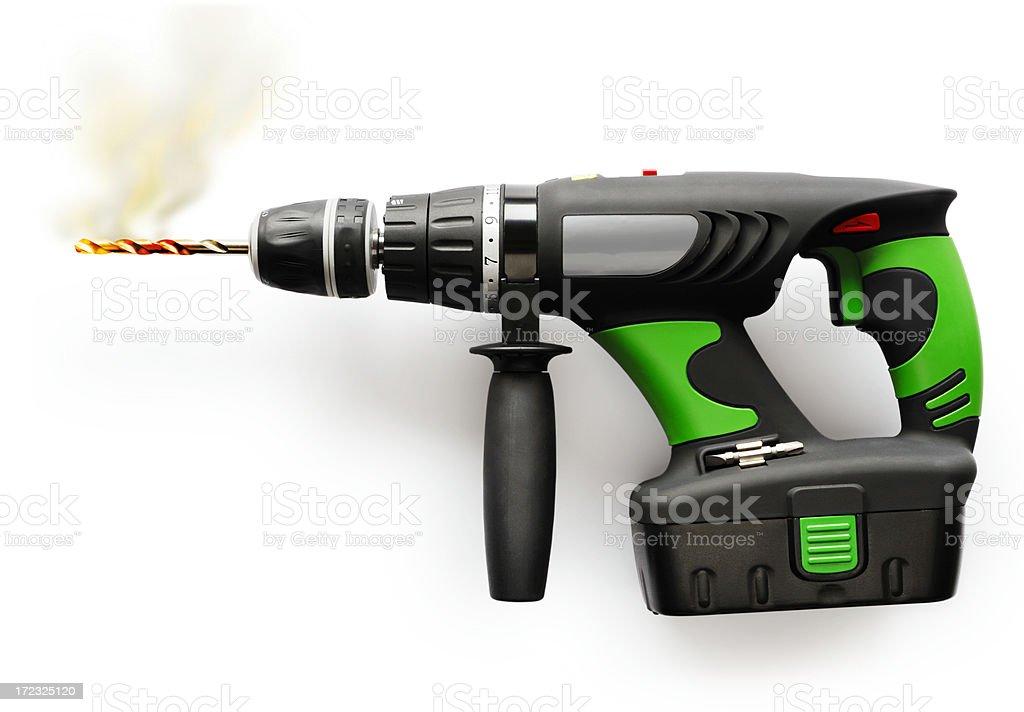 Cordless drill royalty-free stock photo