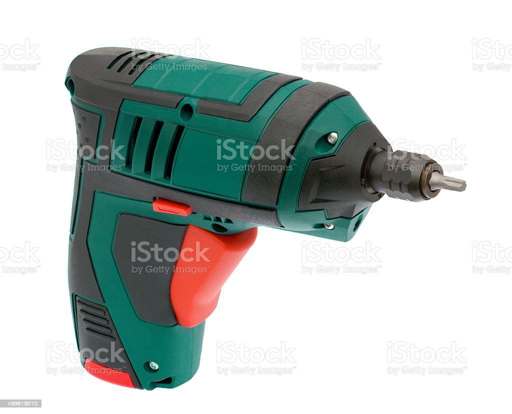 Cordless Drill stock photo