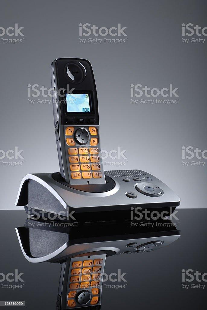 Cordless Home Phone stock photo