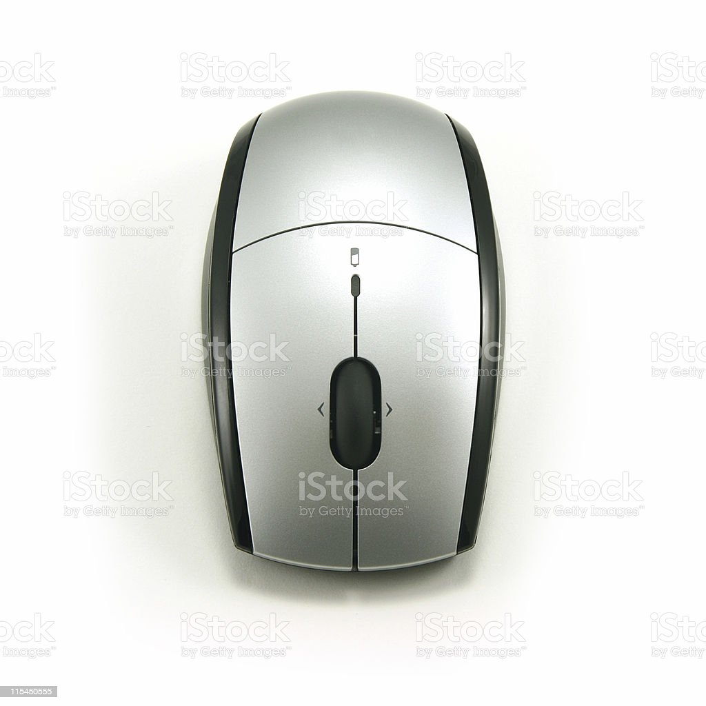 Cordless Optical Mouse stock photo