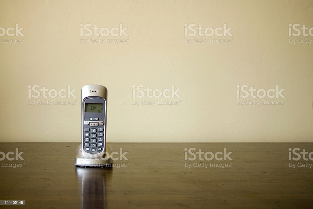 Cordless Phone 2 stock photo