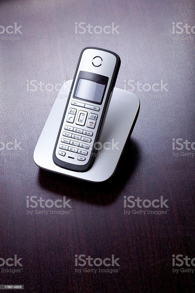 cordless phone (xxxl) stock photo