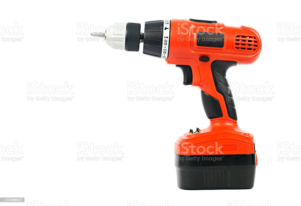 Cordless Power Tool stock photo