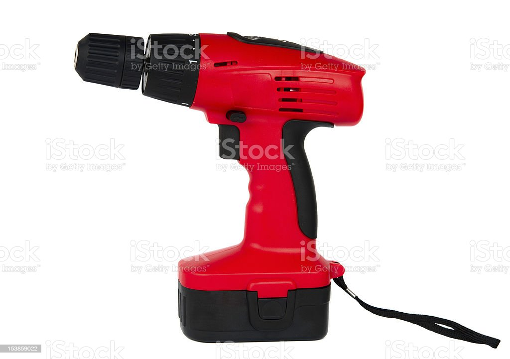 Cordless screwdriver royalty-free stock photo