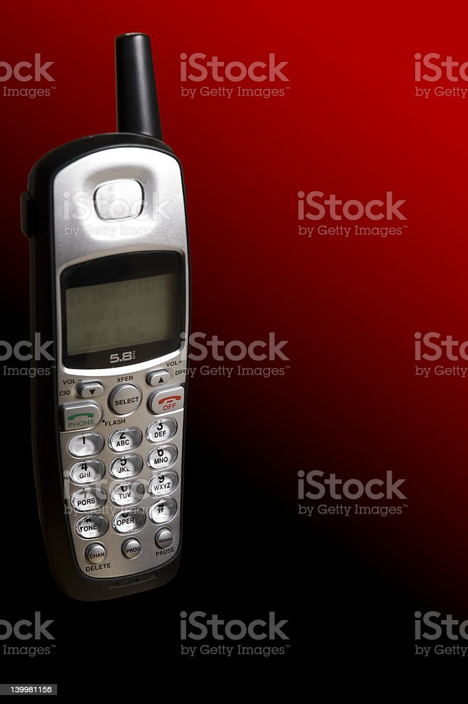 Cordless Telephone stock photo