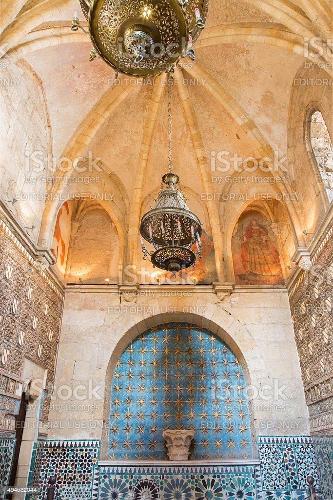 Cordoba - Capilla San Bartolome chapel. stock photo