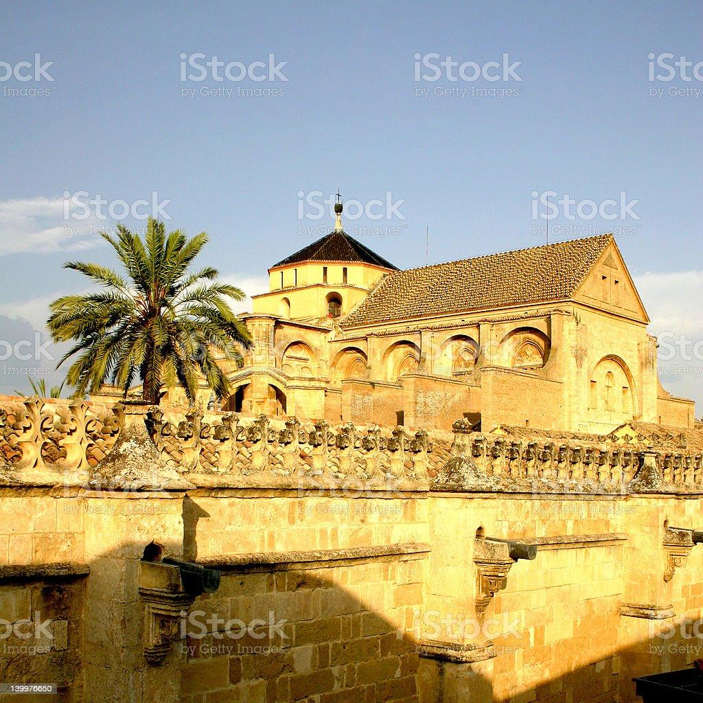 Cordoba cathedral (Mezquita) royalty-free stock photo