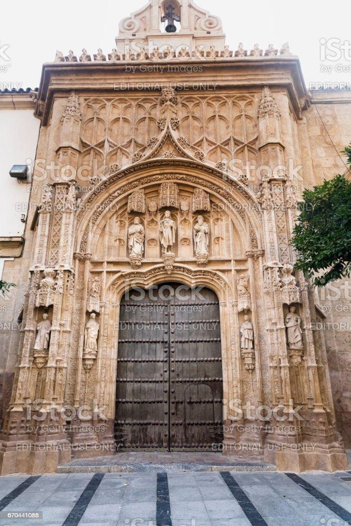 Cordoba (Andalucia, Spain): mezquita-catedral stock photo