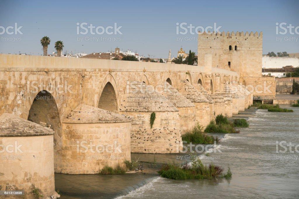 Cordoba (Andalucia, Spain): Roman bridge stock photo