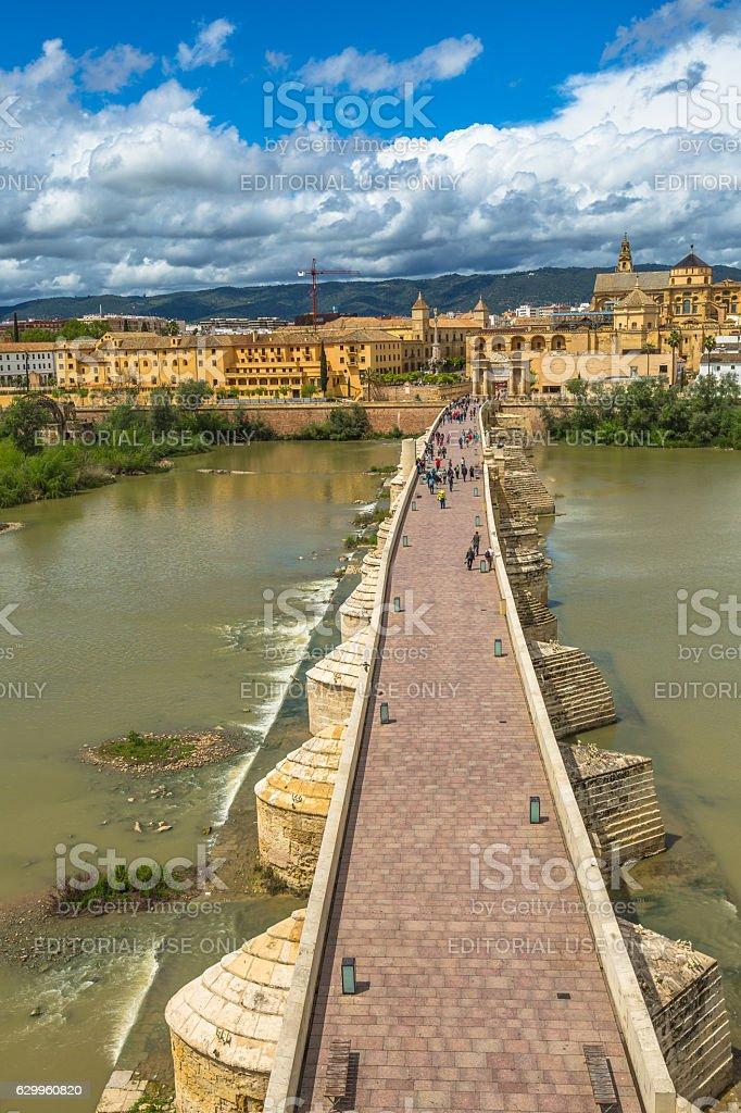 Cordoba skyline Spain stock photo