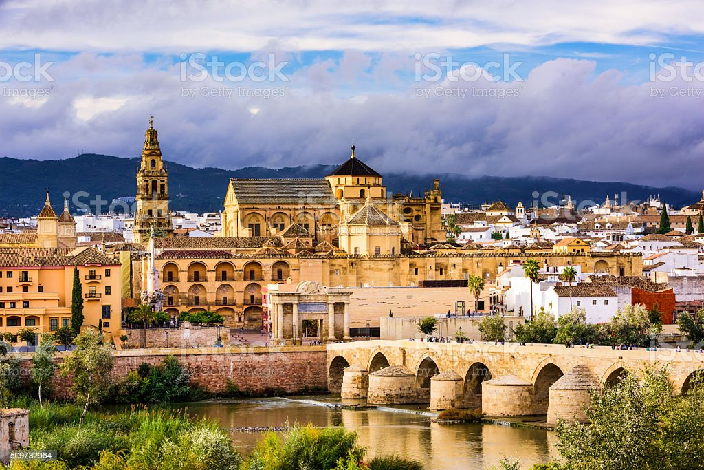 Cordoba Spain Mosque stock photo