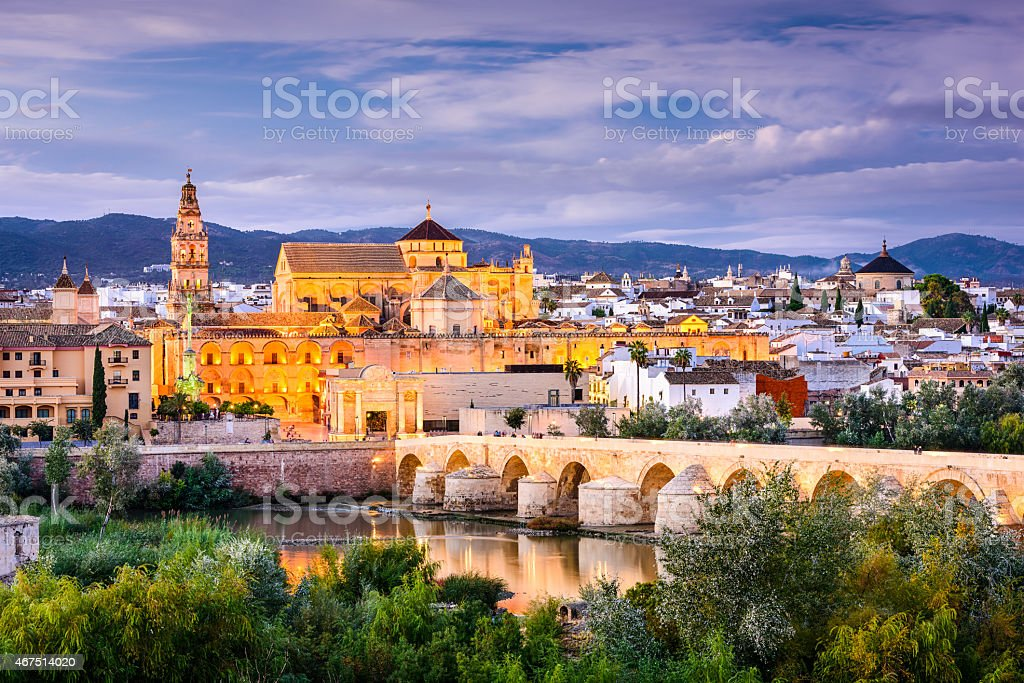Cordoba, Spain Old Town stock photo