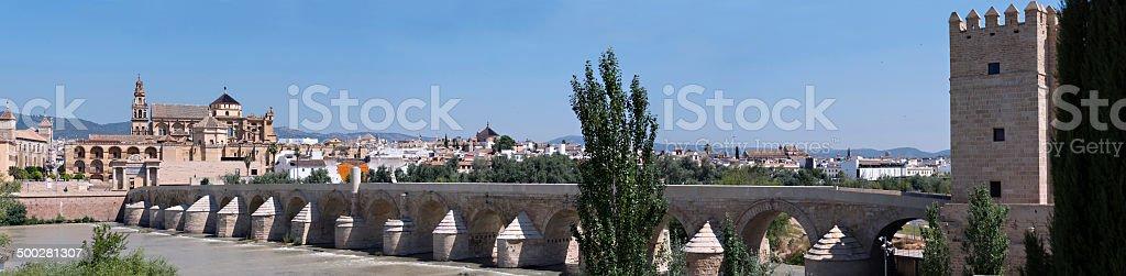 Cordoba, Spain Panorama royalty-free stock photo