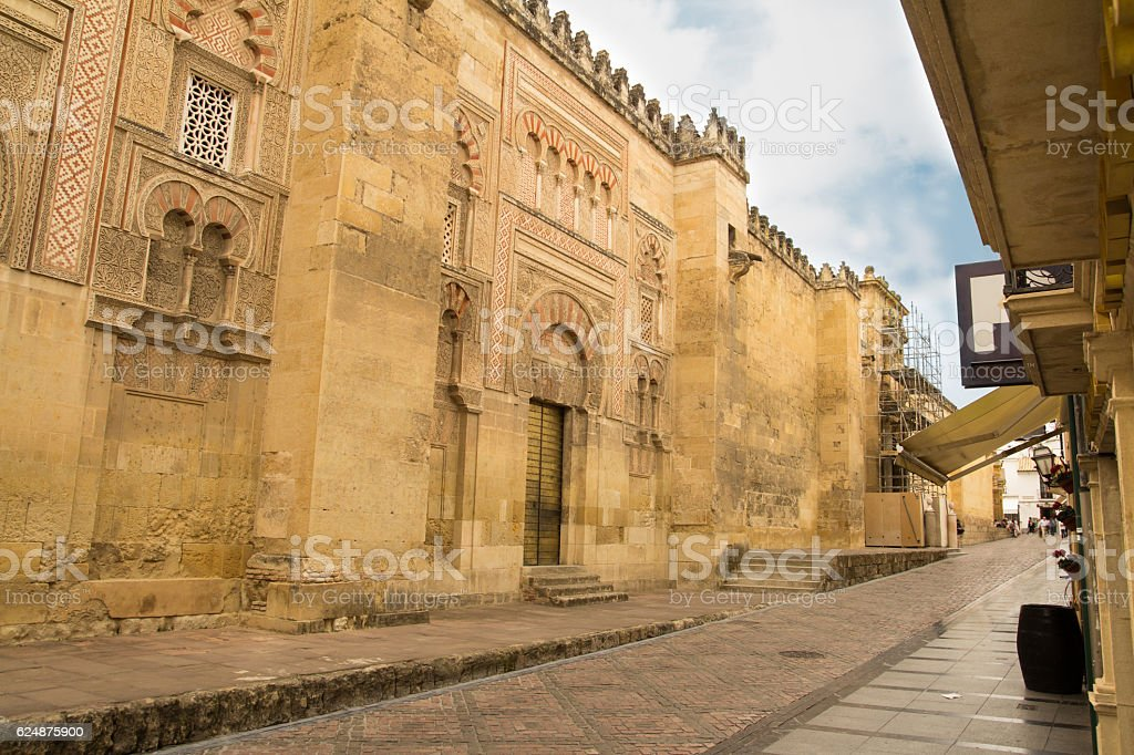 cordoba street stock photo