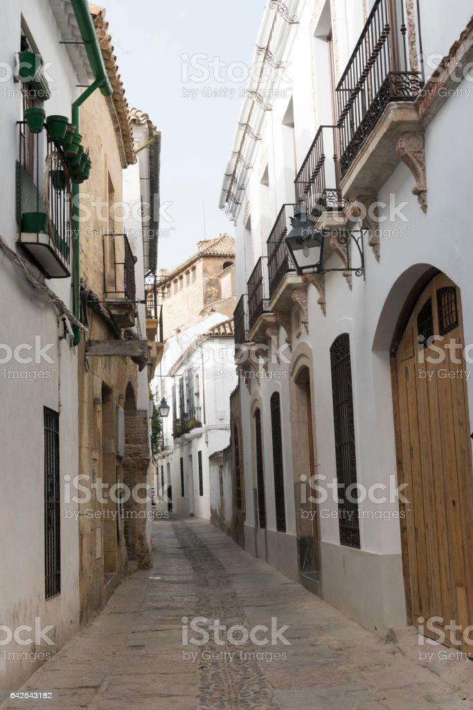 Cordoba (Andalucia, Spain): street stock photo