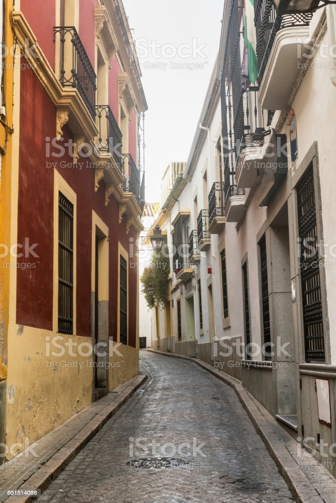 Cordoba (Andalucia, Spain): street stock photo