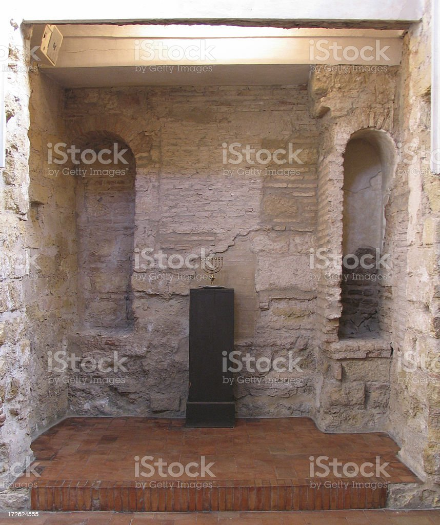 Cordoba Synagogue stock photo