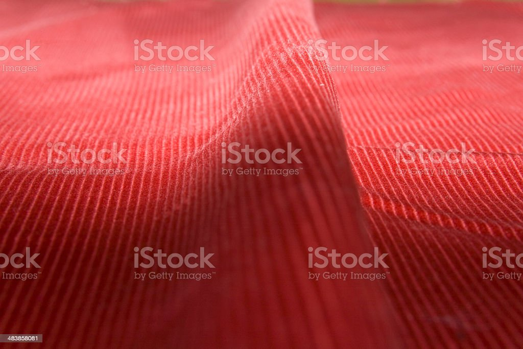 Corduroy wave royalty-free stock photo