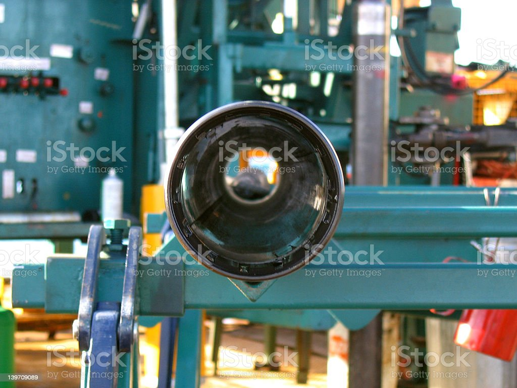 Core Barrell stock photo