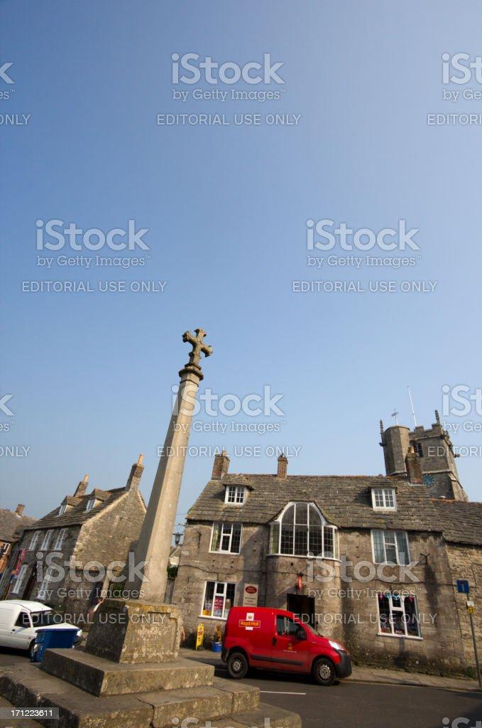 Corfe in Dorset, England royalty-free stock photo
