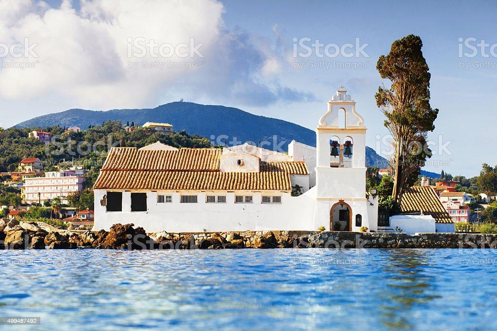 Corfu island, Greece stock photo