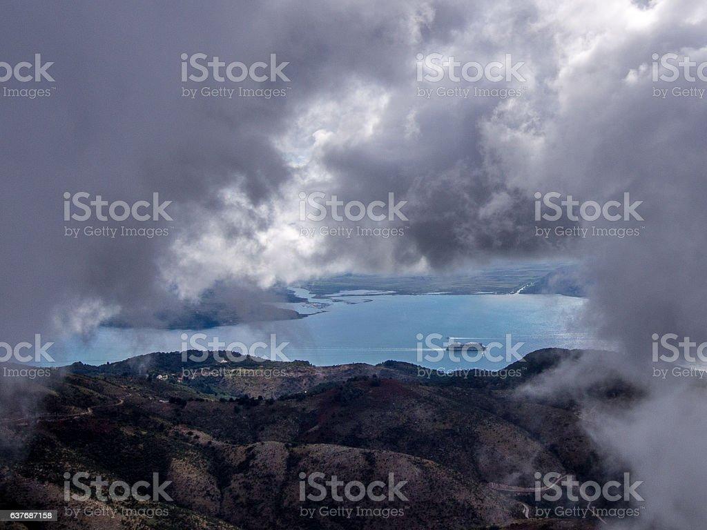 Corfu - Pantokrator stock photo