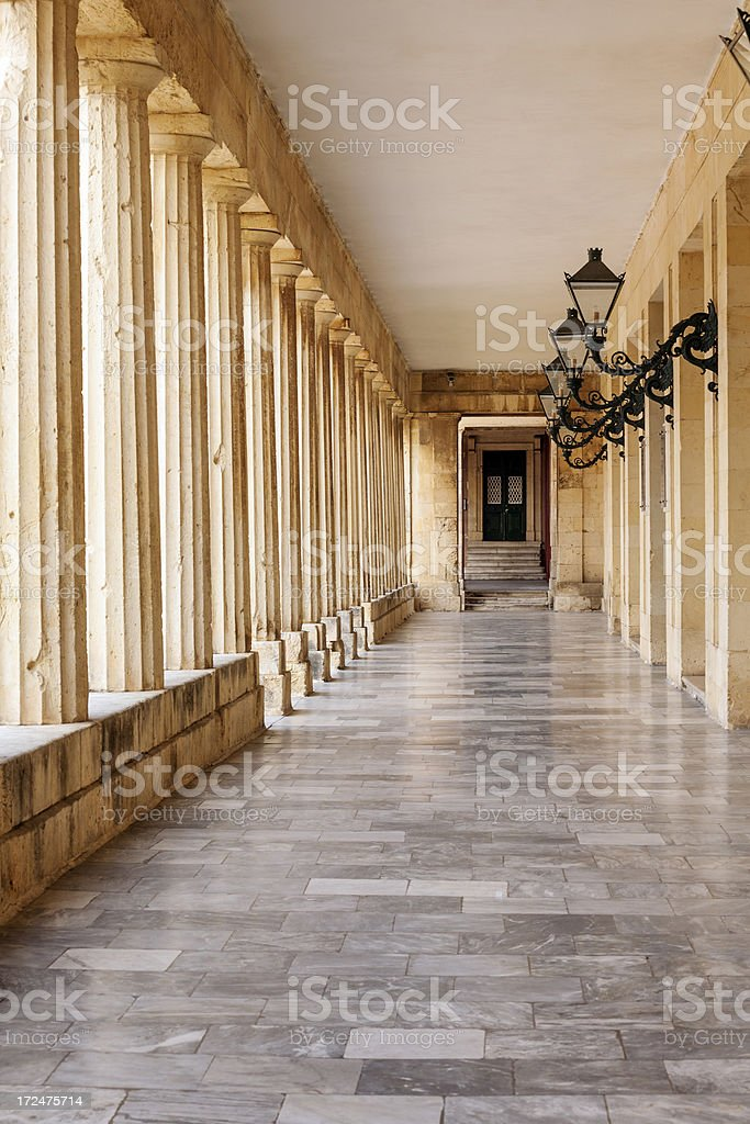 Corfu Town royalty-free stock photo