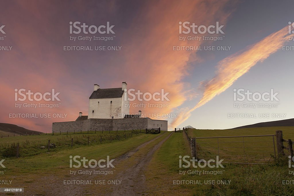 Corgarff Castle royalty-free stock photo