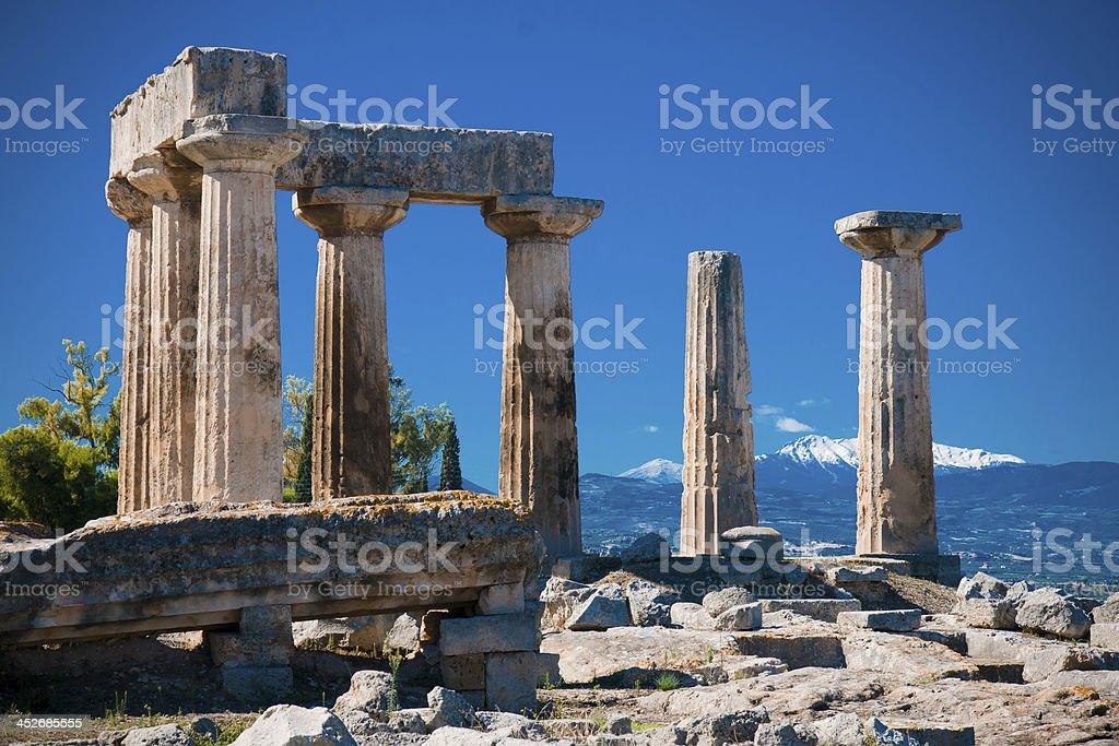 Corinth stock photo