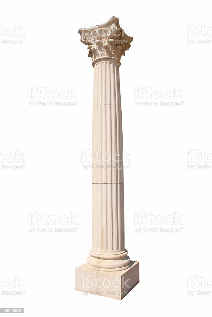 Corinthian Column stock photo