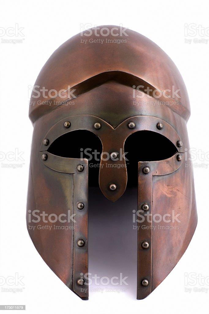Corinthian helmet stock photo