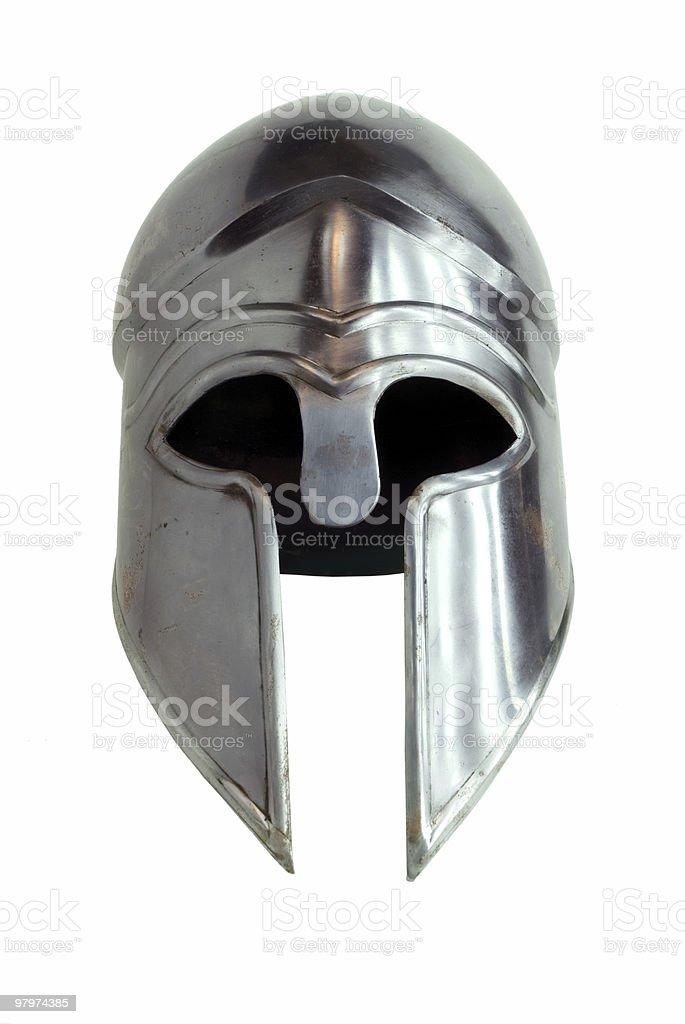 Corinthian helmet royalty-free stock photo