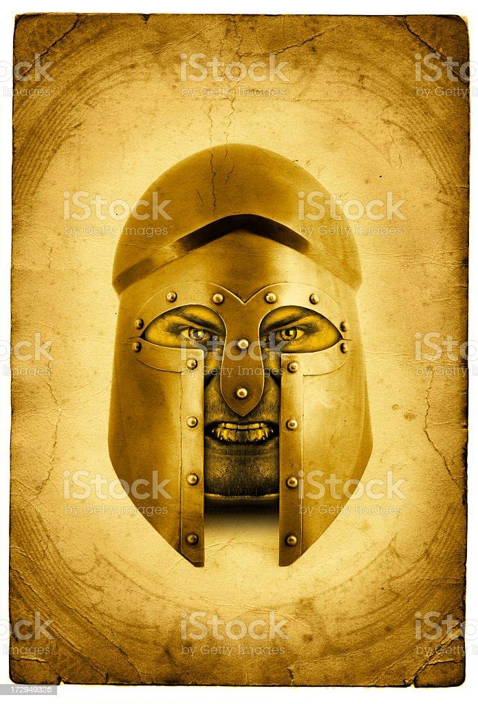 Corinthian warrior stock photo