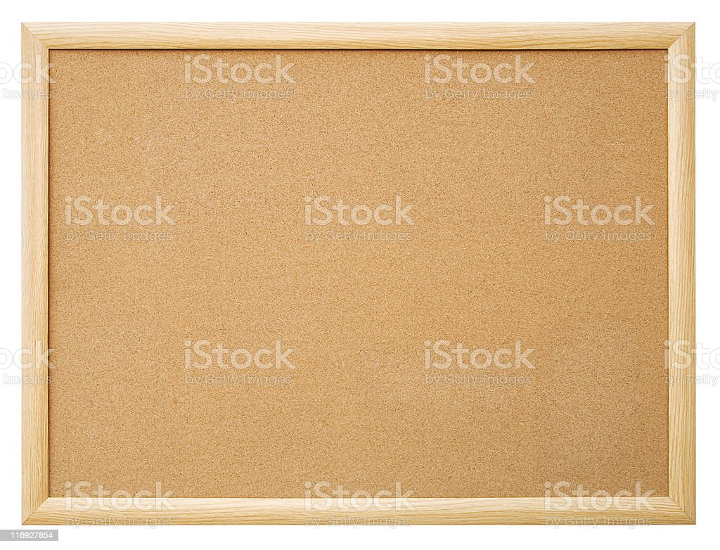Cork board. royalty-free stock photo