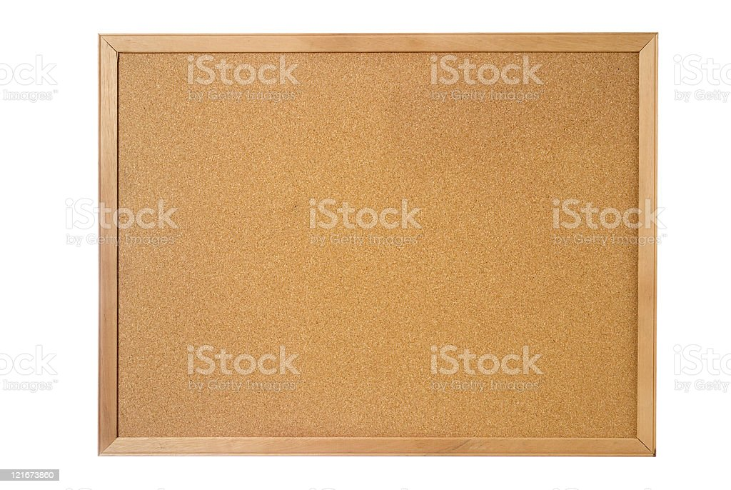 Cork Board royalty-free stock photo