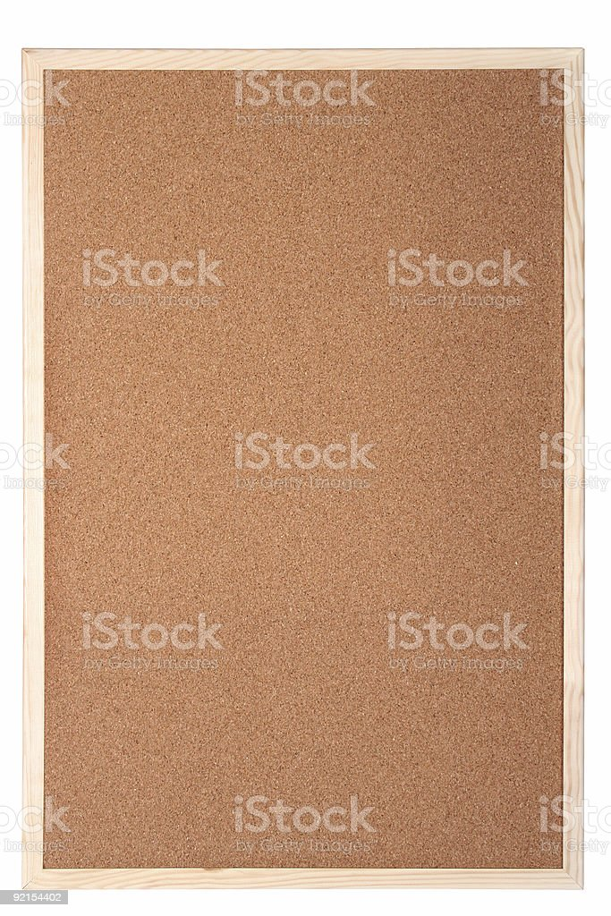cork board royalty-free stock photo