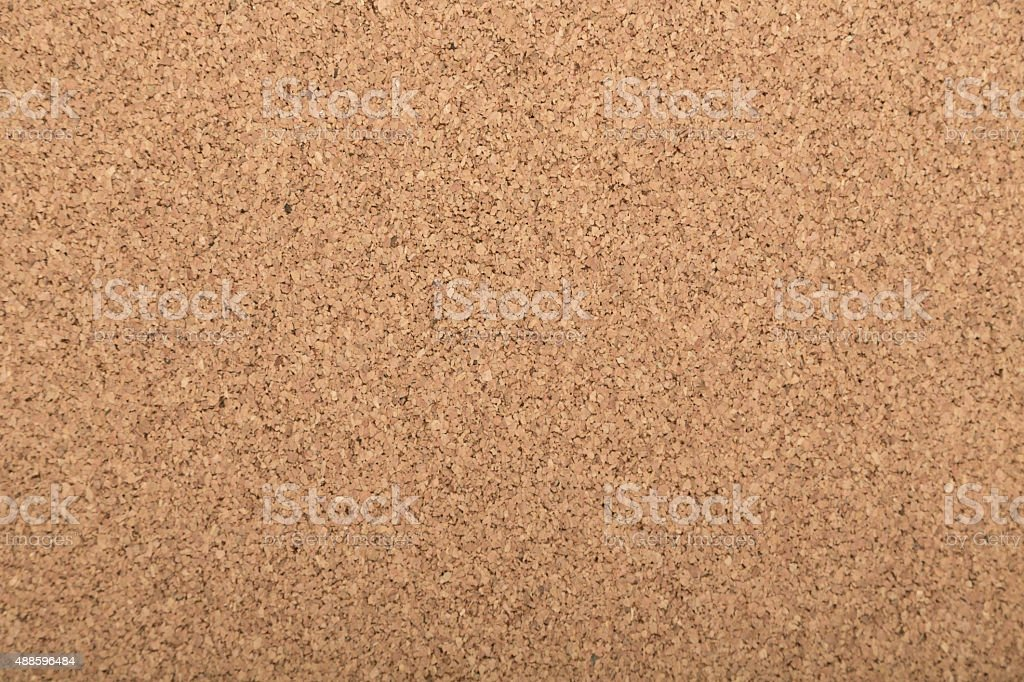 cork board with blank notes stock photo
