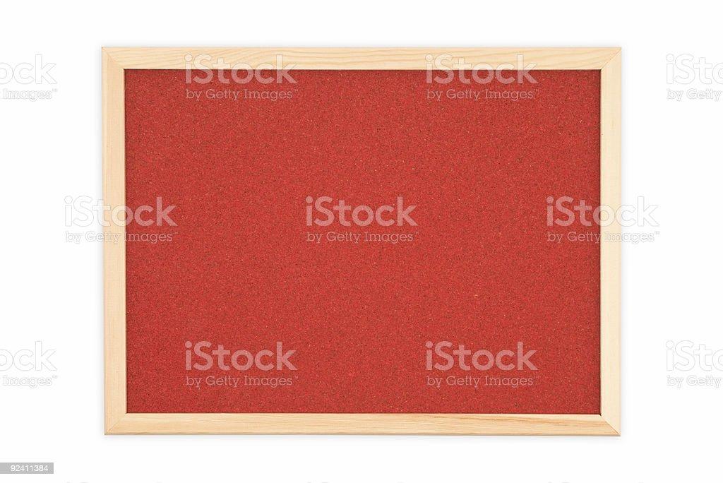 Cork bulletin board royalty-free stock photo