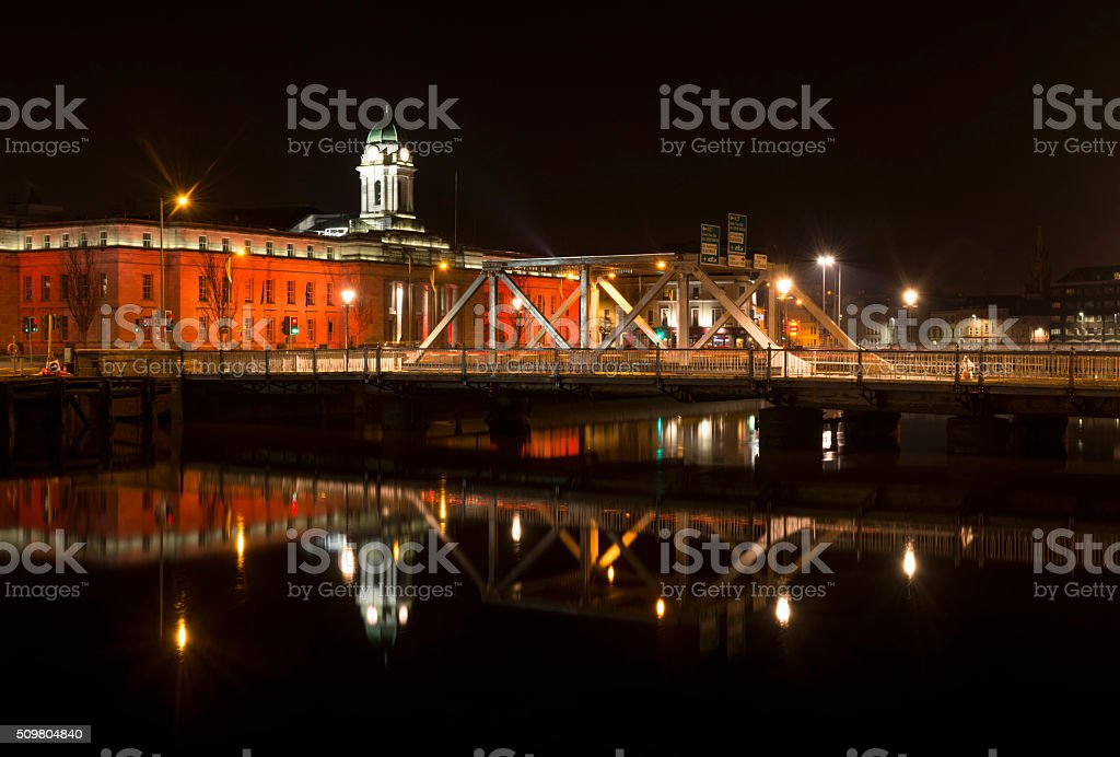 Cork City Hall, Ireland stock photo