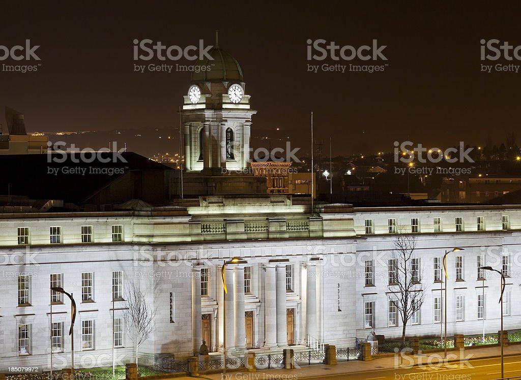 Cork City Hall royalty-free stock photo
