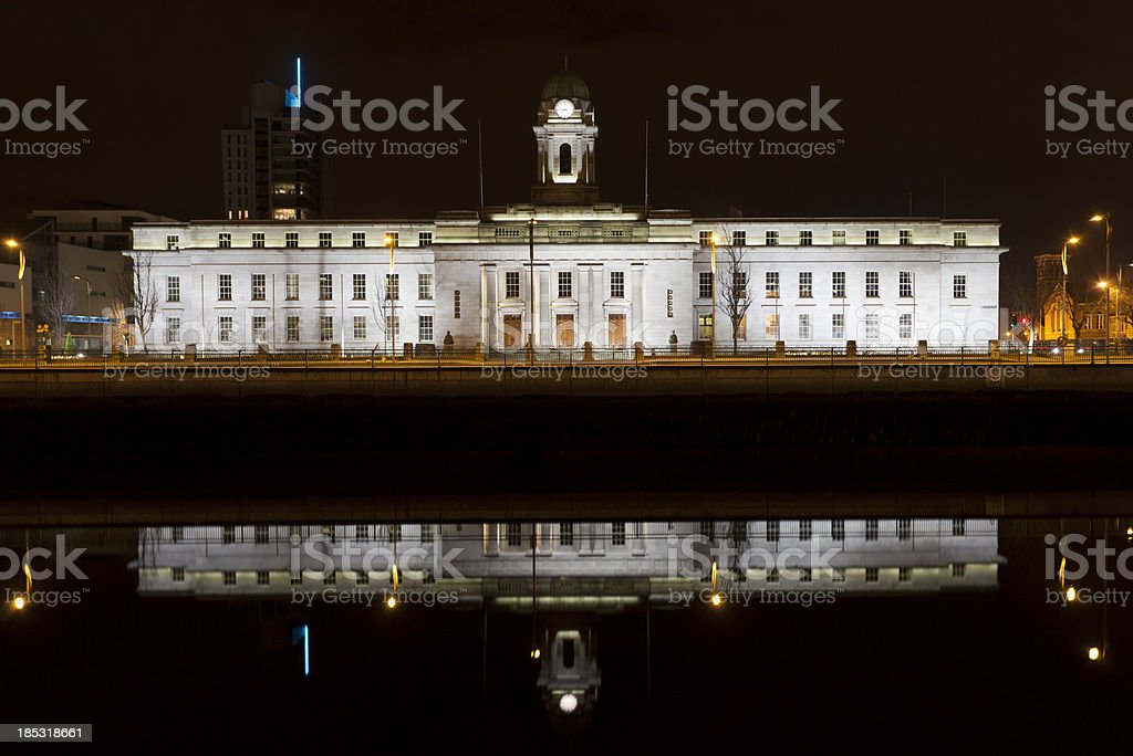Cork City Hall stock photo